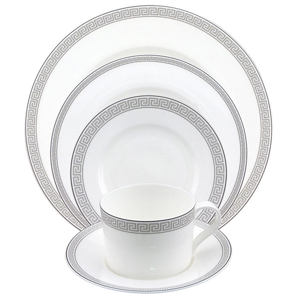 Nikko® Greek Key 5-pc. Bone China Place Setting  sc 1 st  JCPenney & Nikko® Greek Key 5-pc. Bone China Place Setting - JCPenney