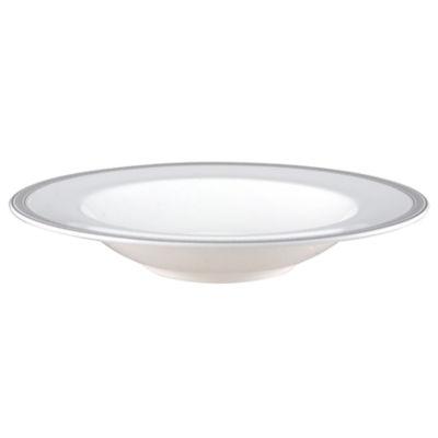 Nikko® Greek Key Bone China Pasta Bowl