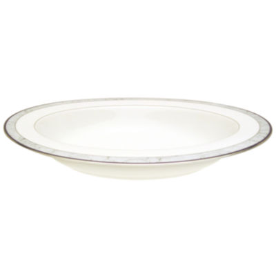 Nikko® Courtyard Marble Pattern Porcelain Oval Serving Bowl