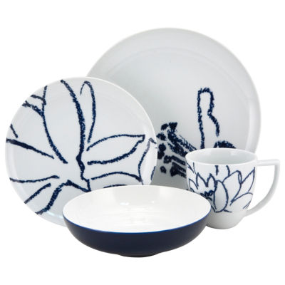Nikko® Artist Blue 4-pc. Porcelain Place Setting
