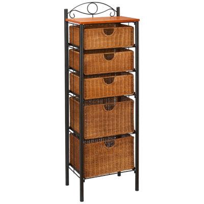 Shadel Wicker Storage Baskets