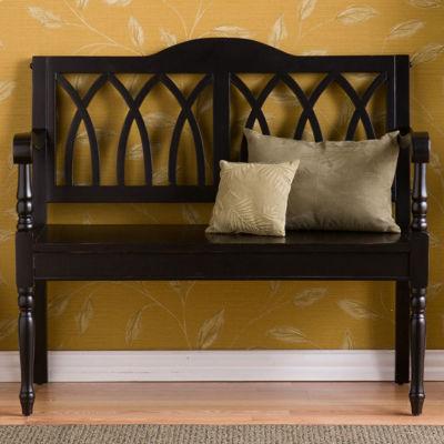 Southlake Furniture Black Bench