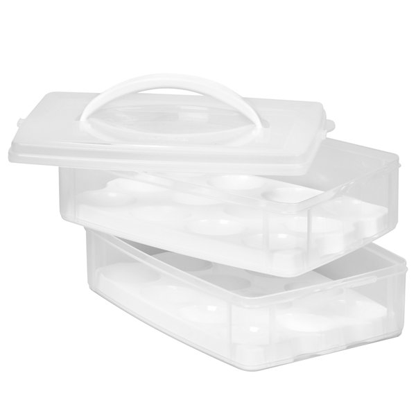 Snapware® Snap 'N Stack Food Storage Eggtainer