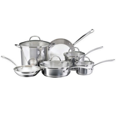 Farberware® Millennium 10-pc. Stainless Steel Cookware Set