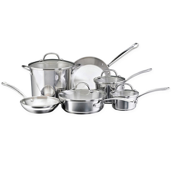 Farberware® Millennium 10-pc. Stainless Steel Cookware Set