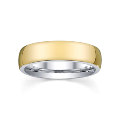 Wedding Band, Womens 6mm 10K/Silver