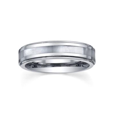 Tungsten Wedding Band, Womens 5mm