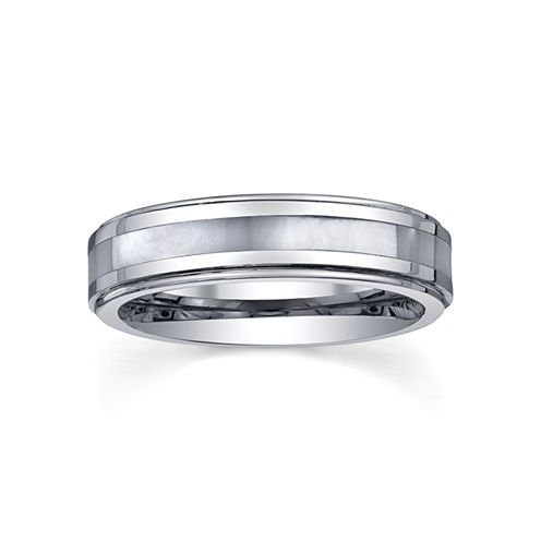 Tungsten Wedding Band, Womens 5mm