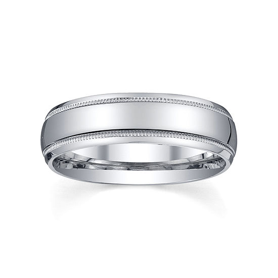 1168f6b28cb73 Mens 6mm Sterling Silver Wedding Band
