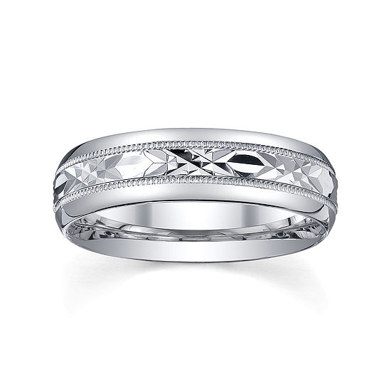 Sterling Silver Wedding Bands.Mens Sterling Silver Wedding Band