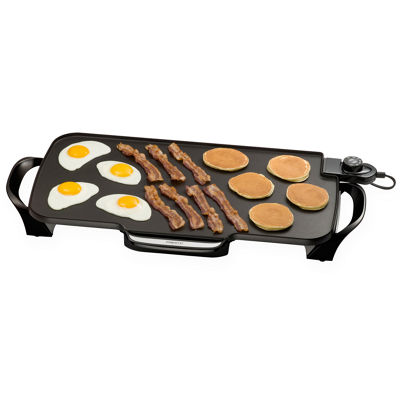 "Presto® 22"" Griddle + Removable Handles"