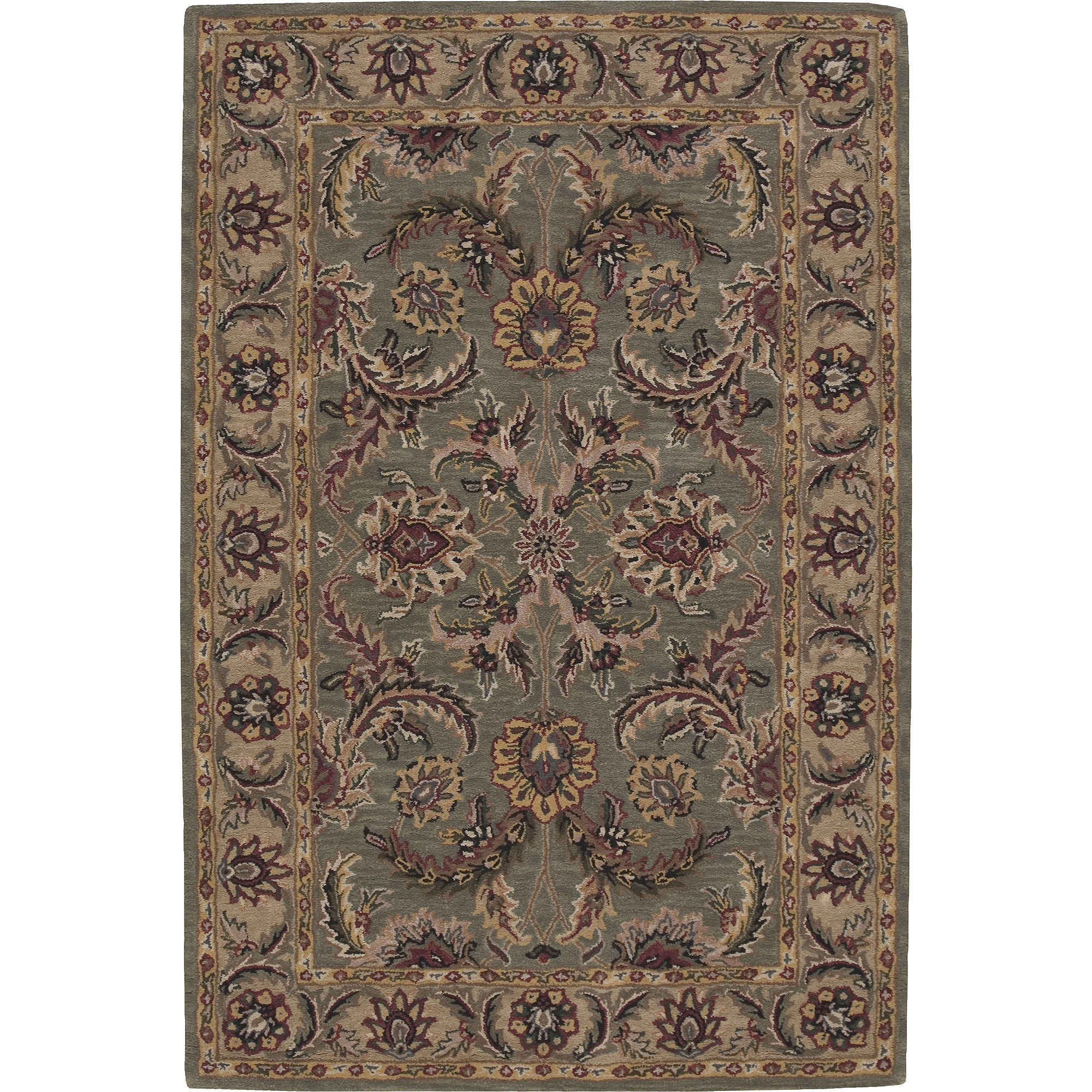 Nourison Raleigh Wool Rectangular Rug