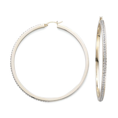 Diamond Fascination™ Hoop Earrings