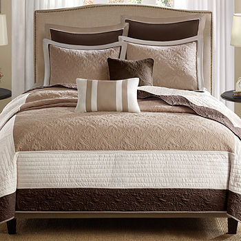 Danville 7 Pc Quilted Coverlet Set