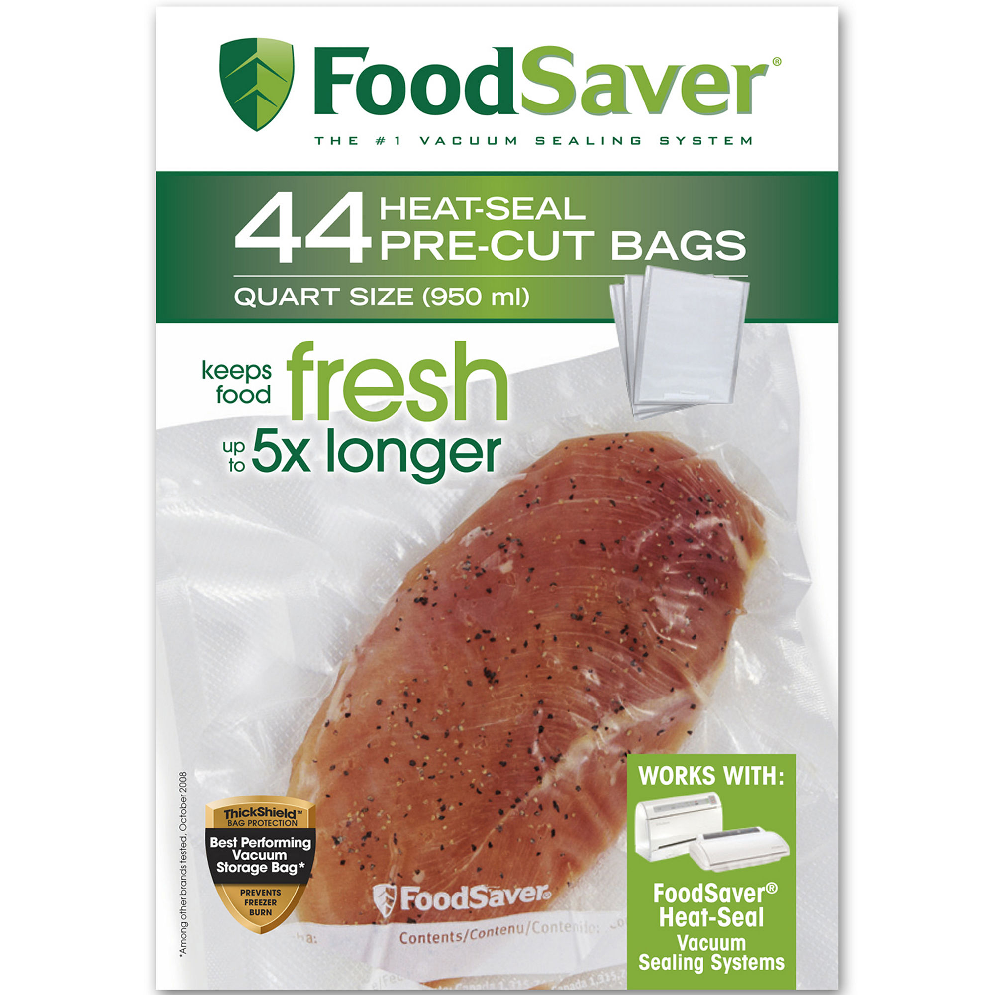 FoodSaver 44 Quart-Size Bags