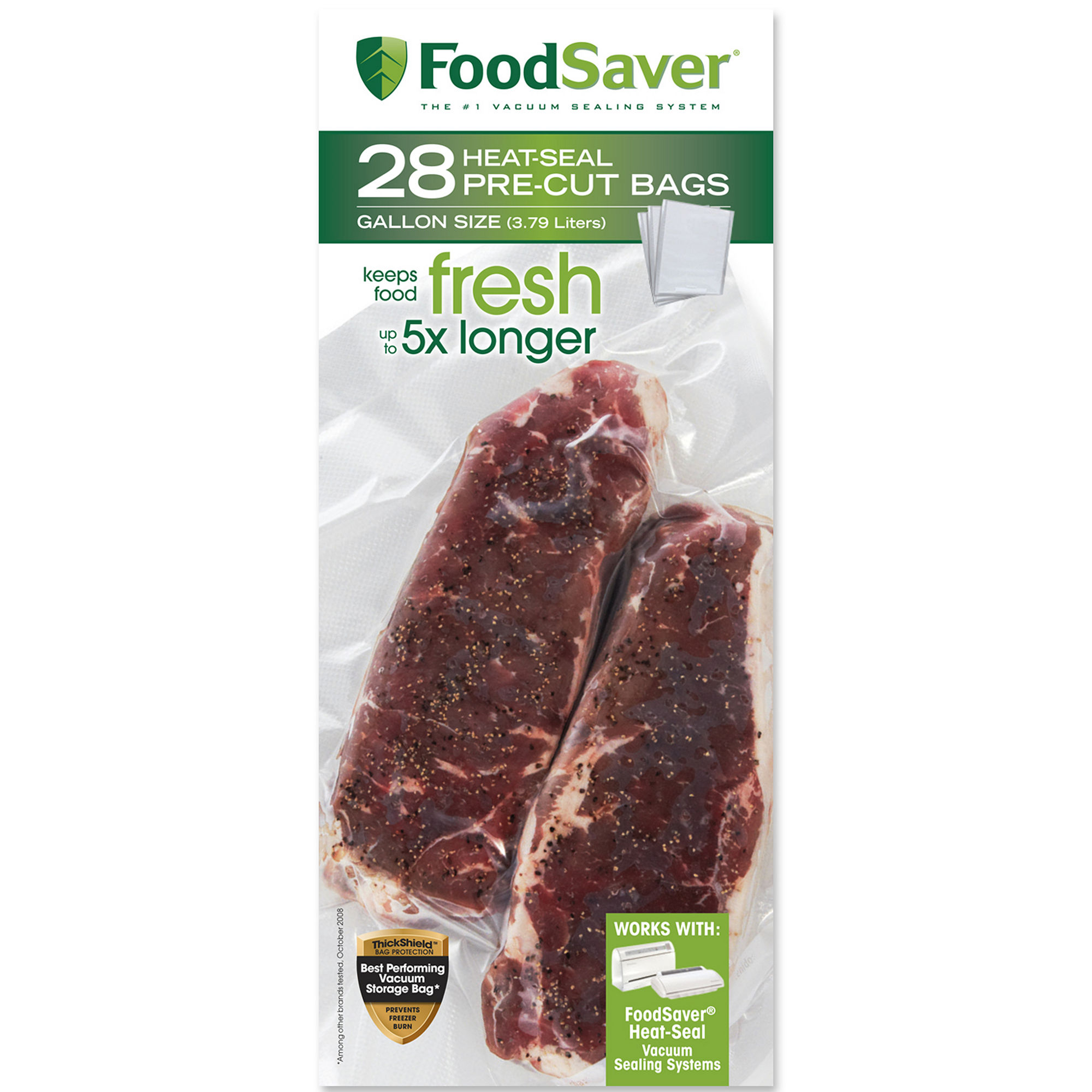 FoodSaver 28 Gallon-Size Bags