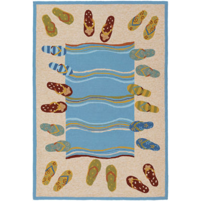 Couristan® Sandals Indoor/Outdoor Rectangular Rug