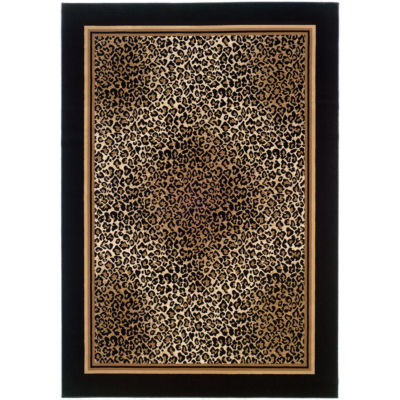 Couristan® Leopard Rectangular Rug