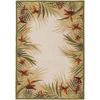 Couristan® Tropics Garden Indoor/Outdoor Rectangular Rug