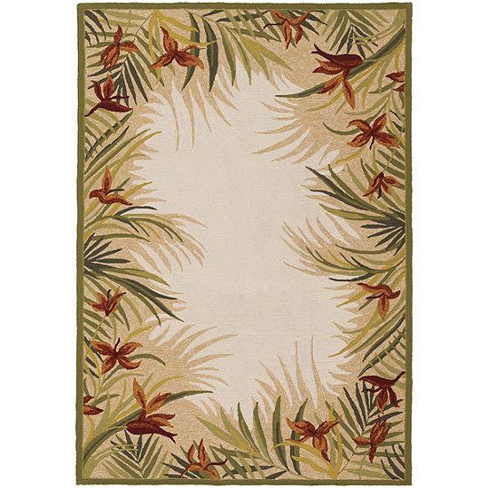 Couristan® Tropics Garden Indoor/Outdoor Rectangular Rug