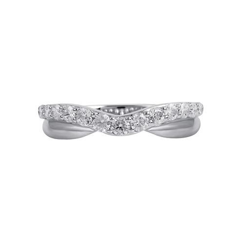 1/2 CT. T.W. Diamond Ring 10K White Gold
