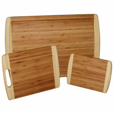 3-pc. Bamboo Cutting Board Set