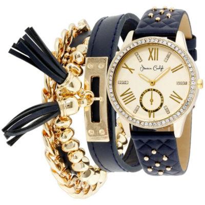 Womens Blue Bracelet Watch-St2383g695-690