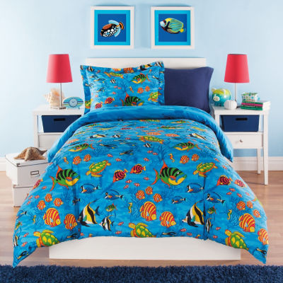 Under the Sea Reversible Comforter Set