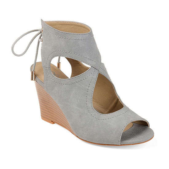Journee Collection Womens Camia Wedge Sandals