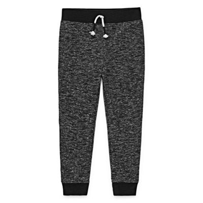 Okie Dokie Slubbed Jogger Pants-Toddler Boys