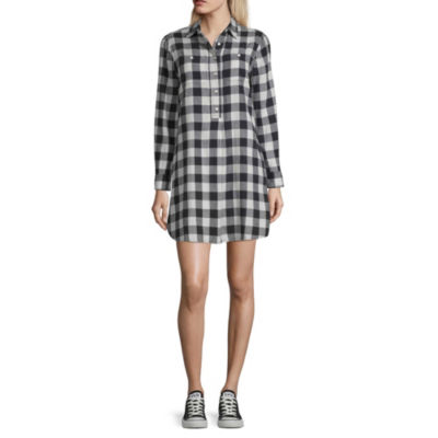 Peyton & Parker Long Sleeve Shirt Dress