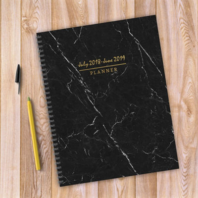 Tf Publishing July 2018 - June 2019 Marble Large Weekly Monthly Planner