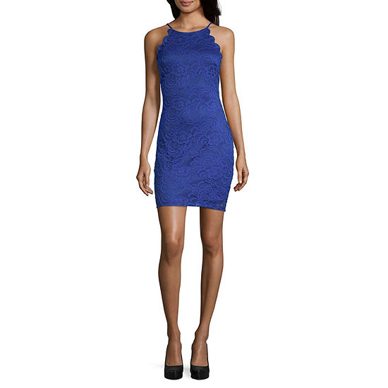 by&by Sleeveless Bodycon Dress-Juniors