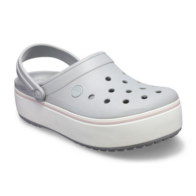 Crocs Crocband Platform Womens Clogs Slip-on Round Toe