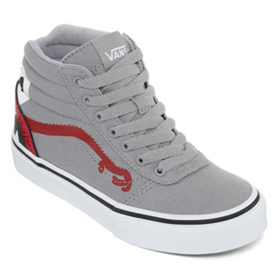 Vans Ward Hi Boys Skate Shoes Lace-up - Big Kids