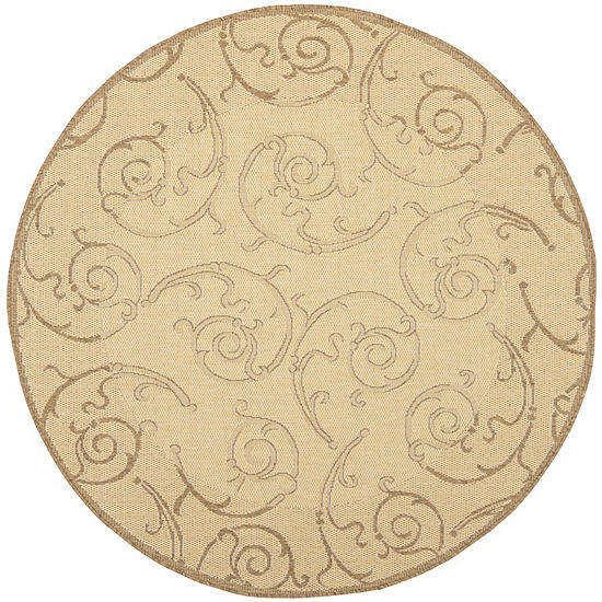 Safavieh Torvald Oriental Round Indoor/Outdoor Rugs