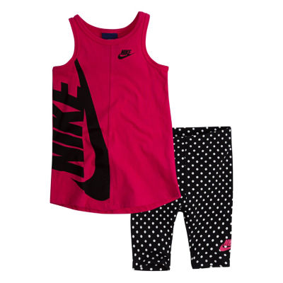 Nike Baby 2-pc. Short Set Baby Girls