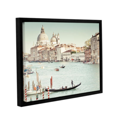 Grand Canal Floater-Framed Gallery Wrapped Canvas