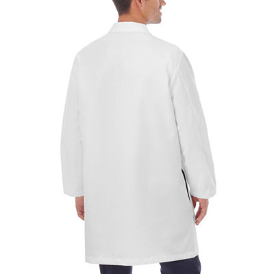 White Swan Mens Long Sleeve Lab Coat-Big Tall