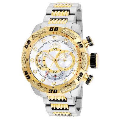 Invicta Speedway Mens Two Tone Bracelet Watch-25480