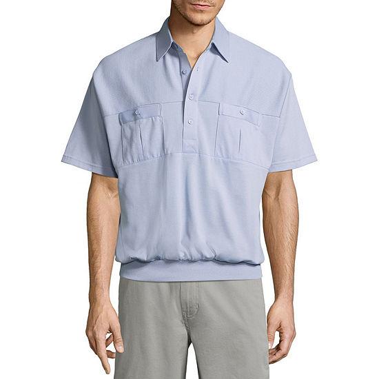 Palmland Mens Short Sleeve Polo Shirt