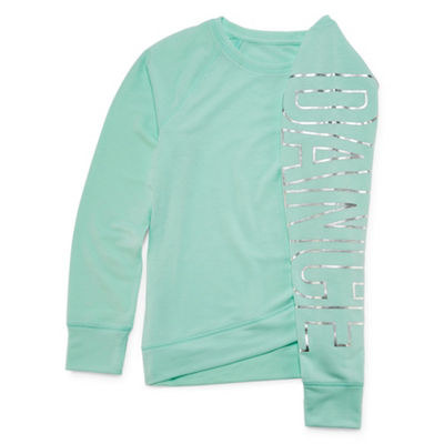 Xersion Long Sleeve Cross-Hem Top Girls 4-16 snd Plus