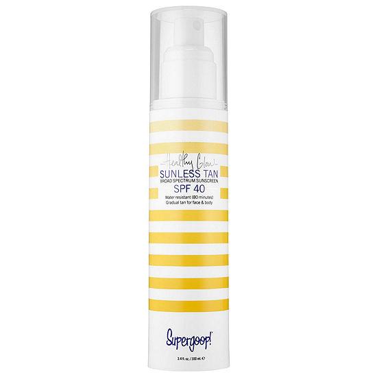 Supergoop! Healthy Glow Sunless Tan Broad Spectrum Suncreen SPF 40