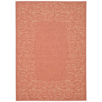 Safavieh Kiaran Floral Rectangular Indoor/Outdoor Rugs