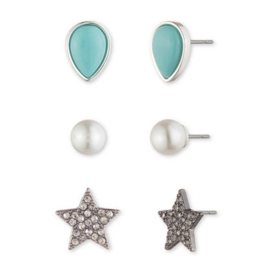 Chaps 11.5mm Stud Earrings