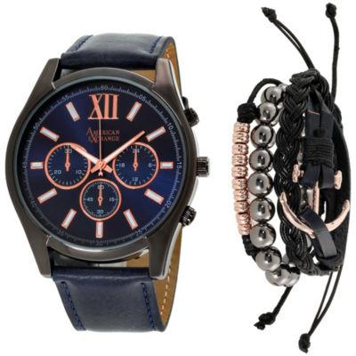 Womens Blue Bracelet Watch-Mst5325bk100-104