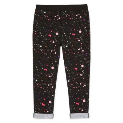 Okie Dokie Knit Jogger Pants - Toddler Girls