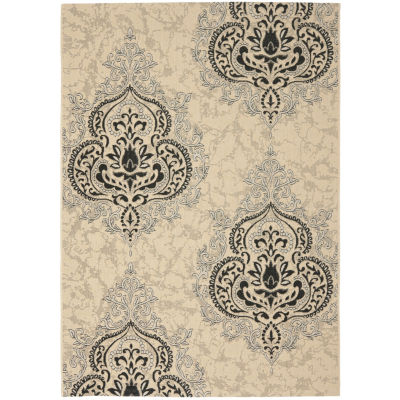 Safavieh Courtyard Collection Dedrick Medallion Indoor/Outdoor Area Rug