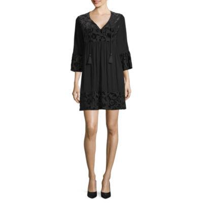 Artesia 3/4 Sleeve T-Shirt Dresses