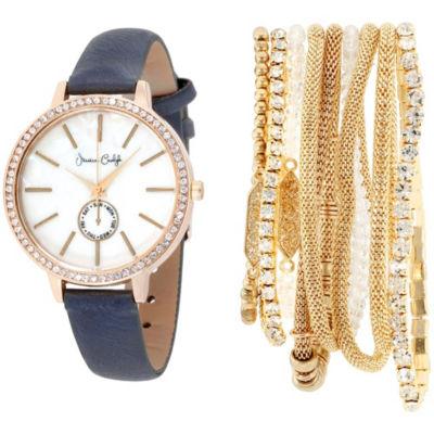 Womens Blue Bracelet Watch-St2399g695-007